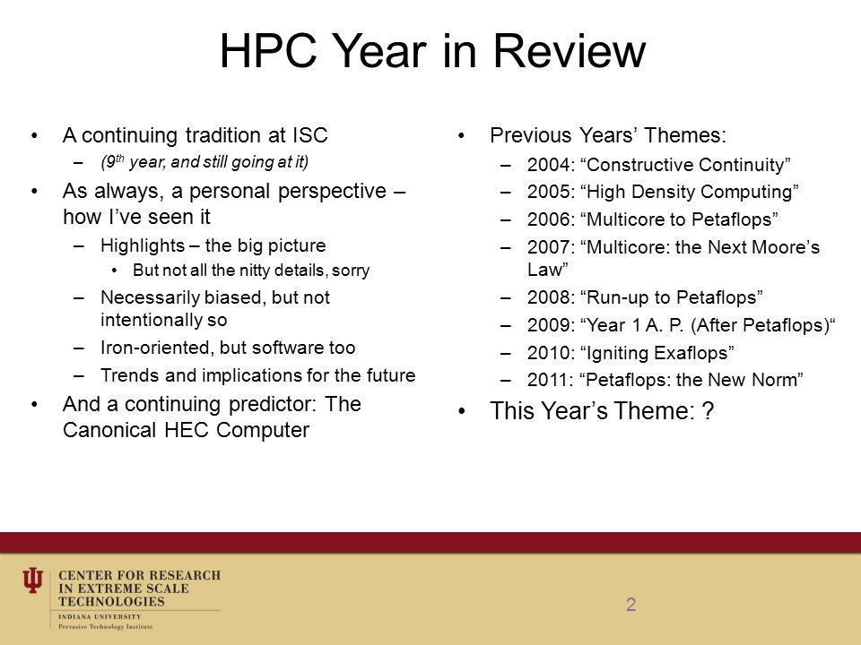 3 Trends in Highlight - 2012 International across the high end Reversal of power growth – green screams.