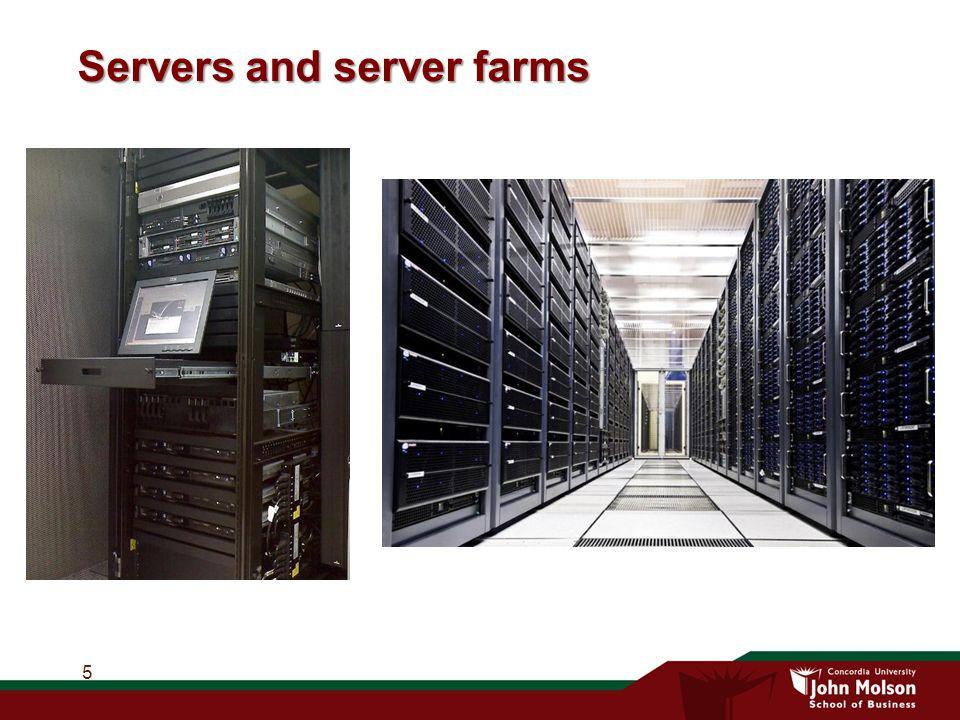 Servers and server farms 5