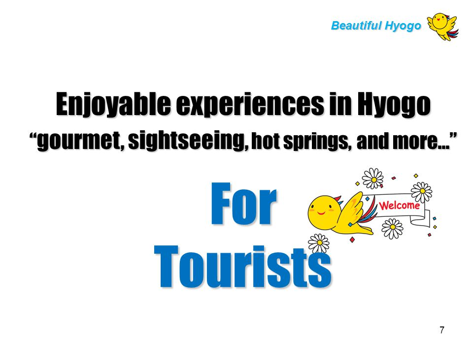 Comfortable Living Environment for All Beautiful Hyogo Religion Many religious facilities within 5 km radius in Kobe City Various religious facilities show that Hyogo has a long history of welcoming expatriates.