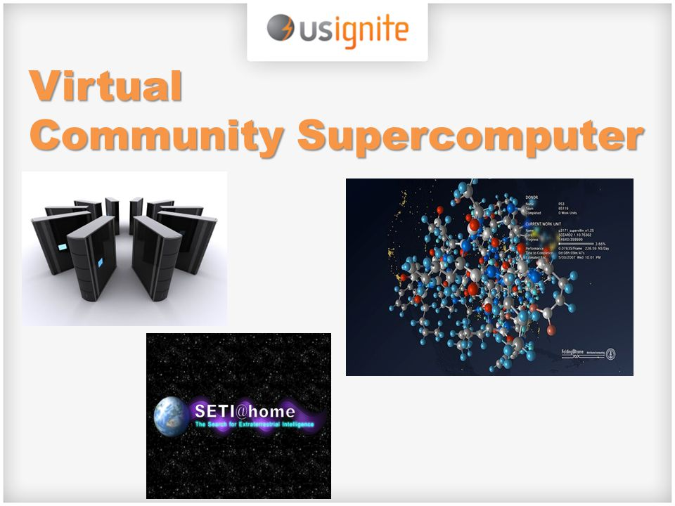 Virtual Community Supercomputer
