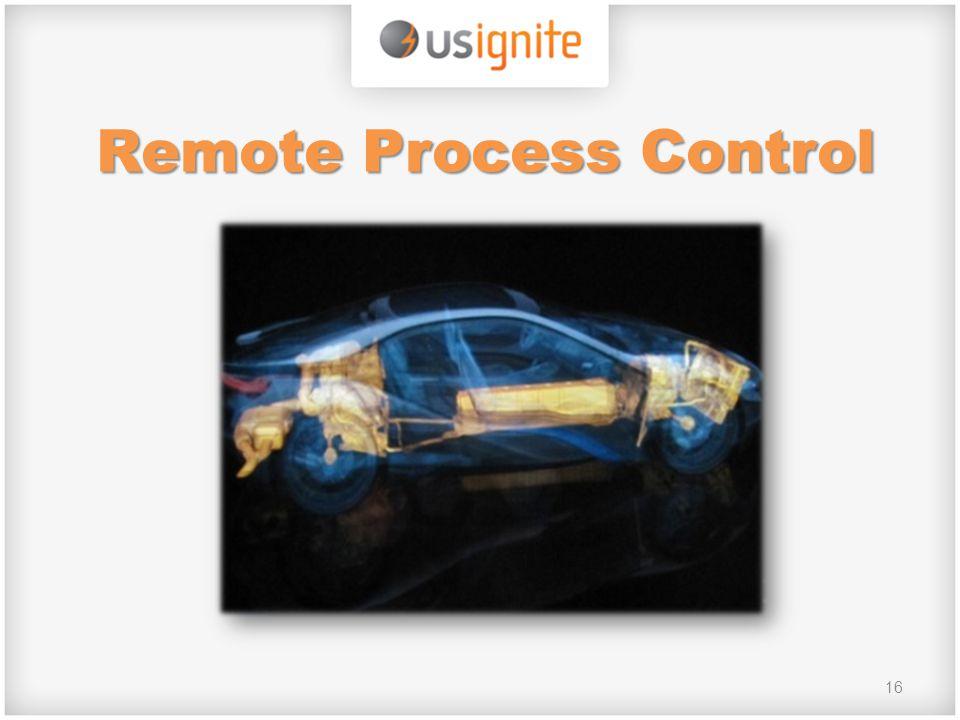 16 Remote Process Control