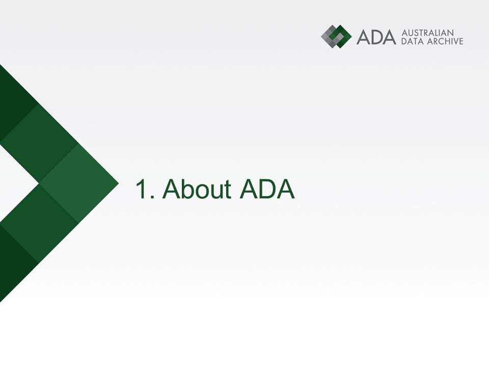 1. About ADA