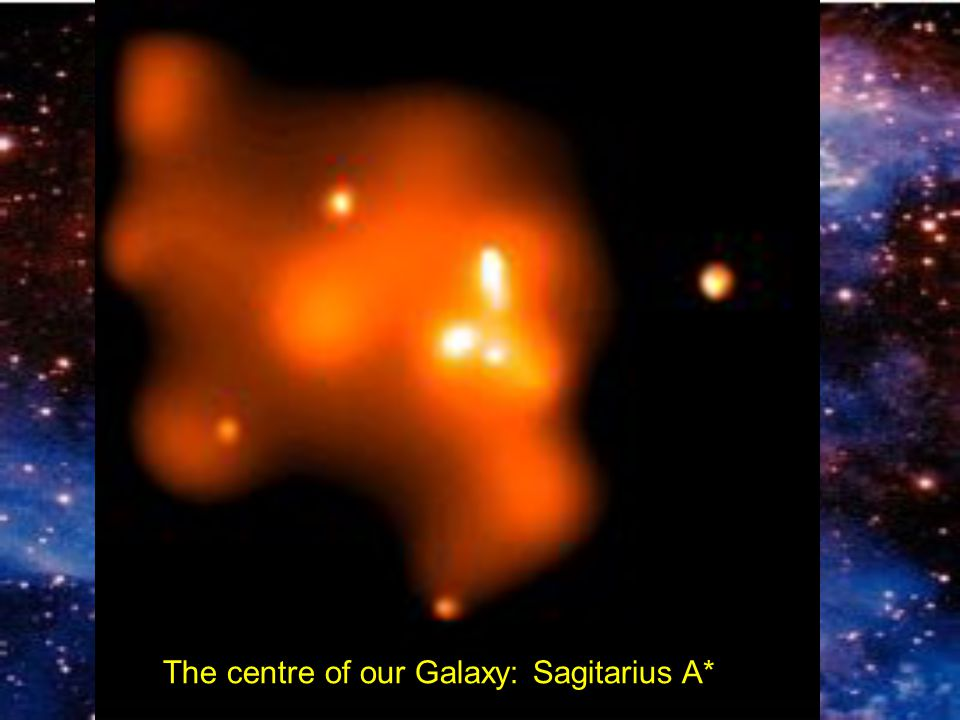 The centre of our Galaxy: Sagitarius A*