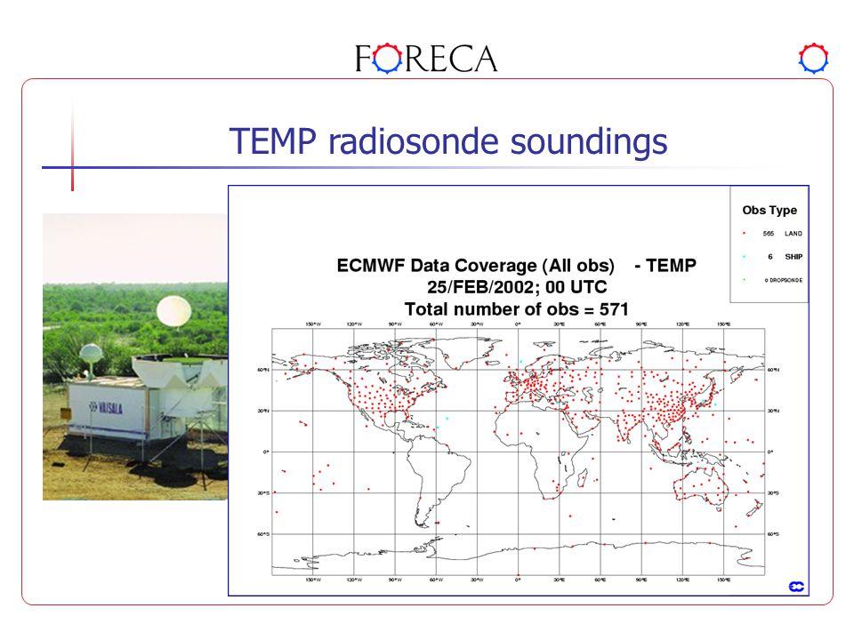 TEMP radiosonde soundings