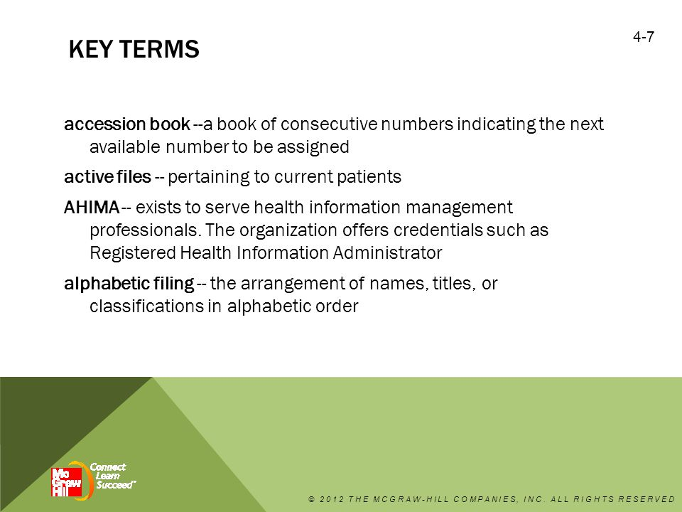 KEY TERMS (CONTINUED) social history (SH) -- Information that may be pertinent to treatment regarding the patient's marital history, occupation, interests, and eating, drinking, smoking habits.