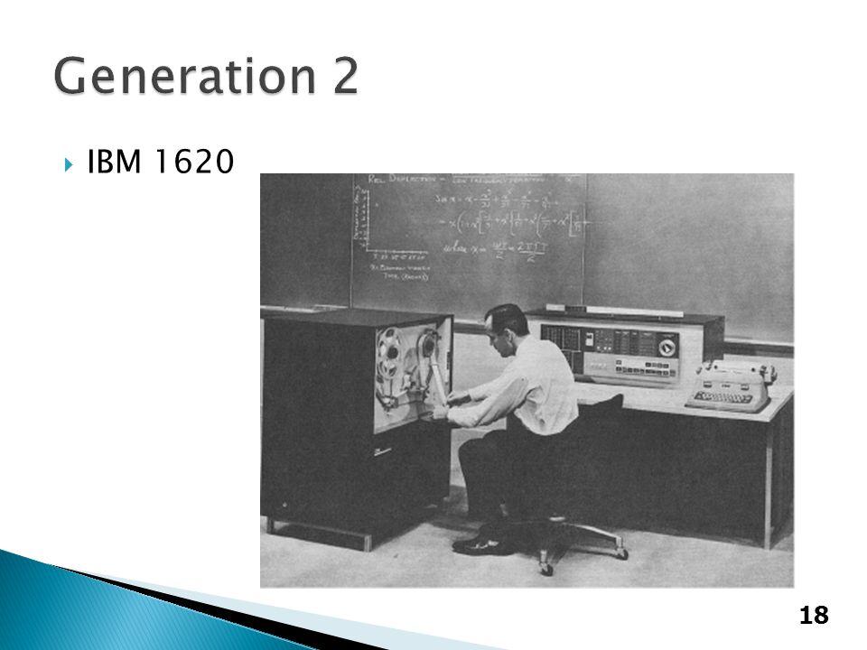  IBM 1620 18