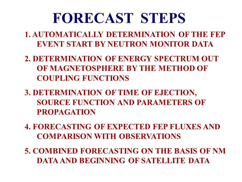 Forecast of Solar Flare Particle Events Using Cosmic-Ray Neutron Monitor and Satellite Data: Principles of the Algorithm and its Verification