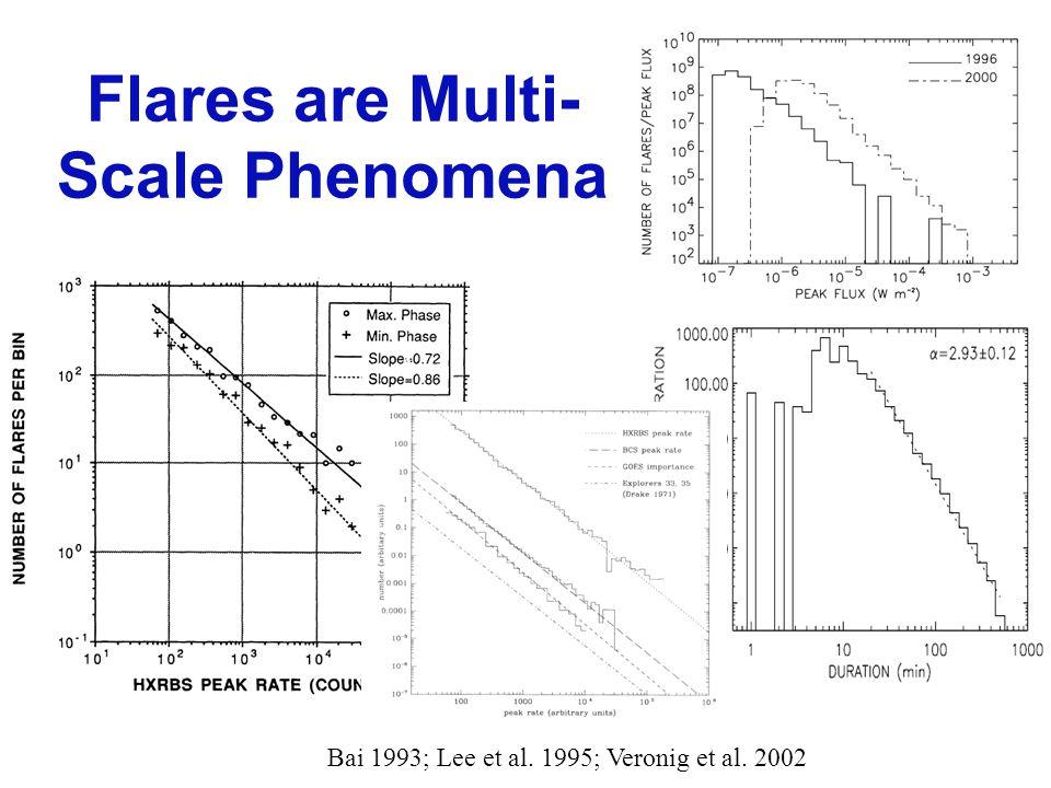 Flares are Multi- Scale Phenomena Bai 1993; Lee et al. 1995; Veronig et al. 2002