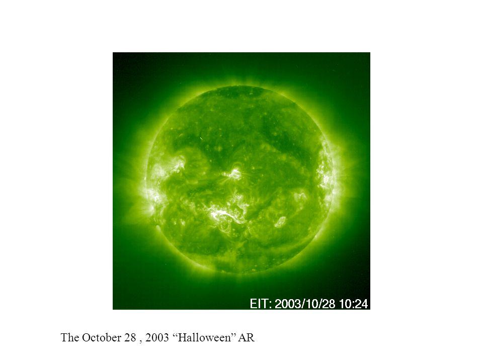 The October 28, 2003 Halloween AR