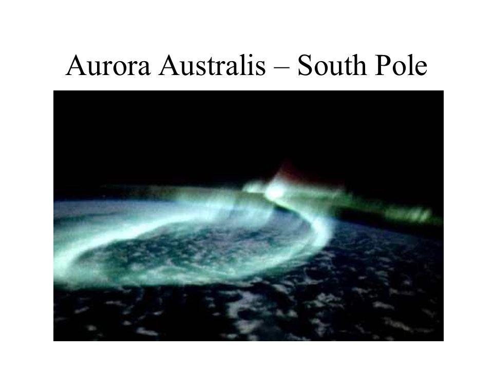 Aurora Australis – South Pole