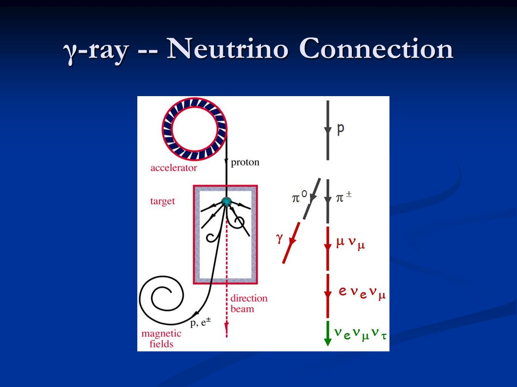 γ-ray -- Neutrino Connection
