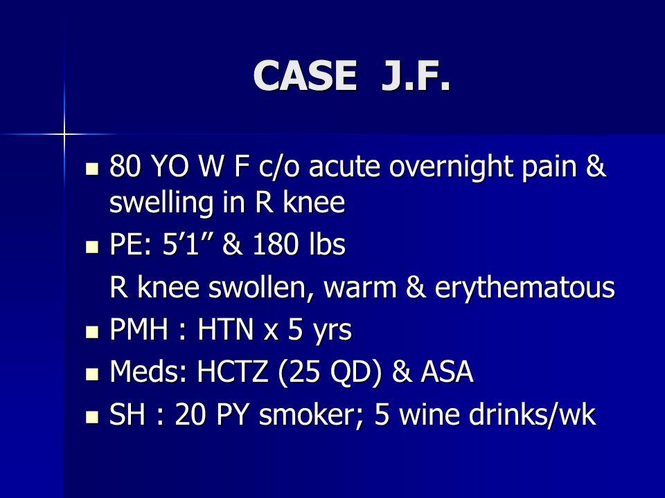 CASE J.F. CASE J.F.
