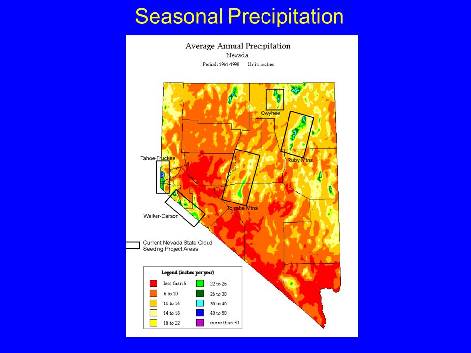Seasonal Precipitation