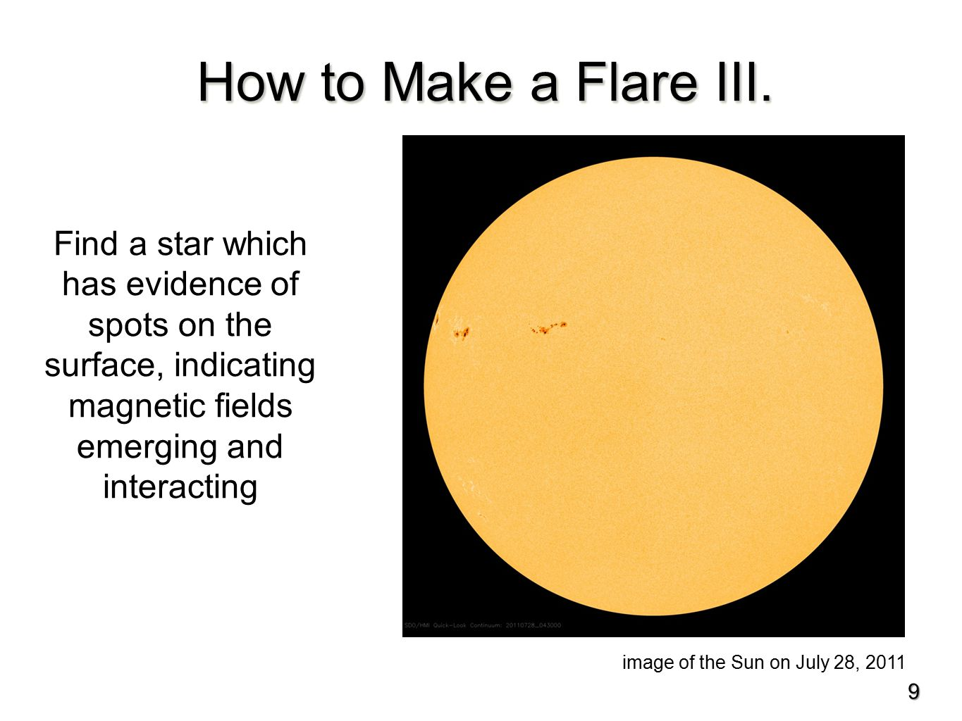 What is the nature of the flaring stars.
