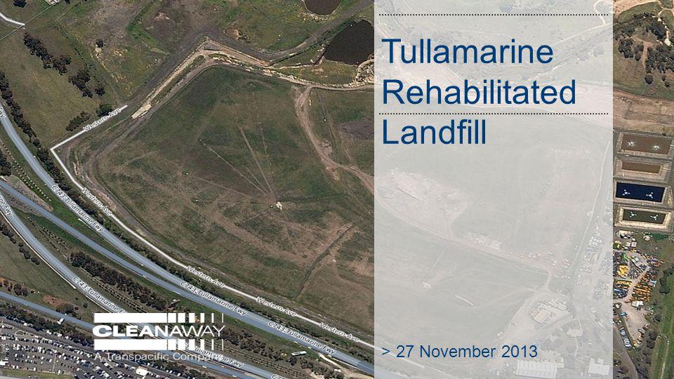 Tullamarine Rehabilitated Landfill > 27 November 2013