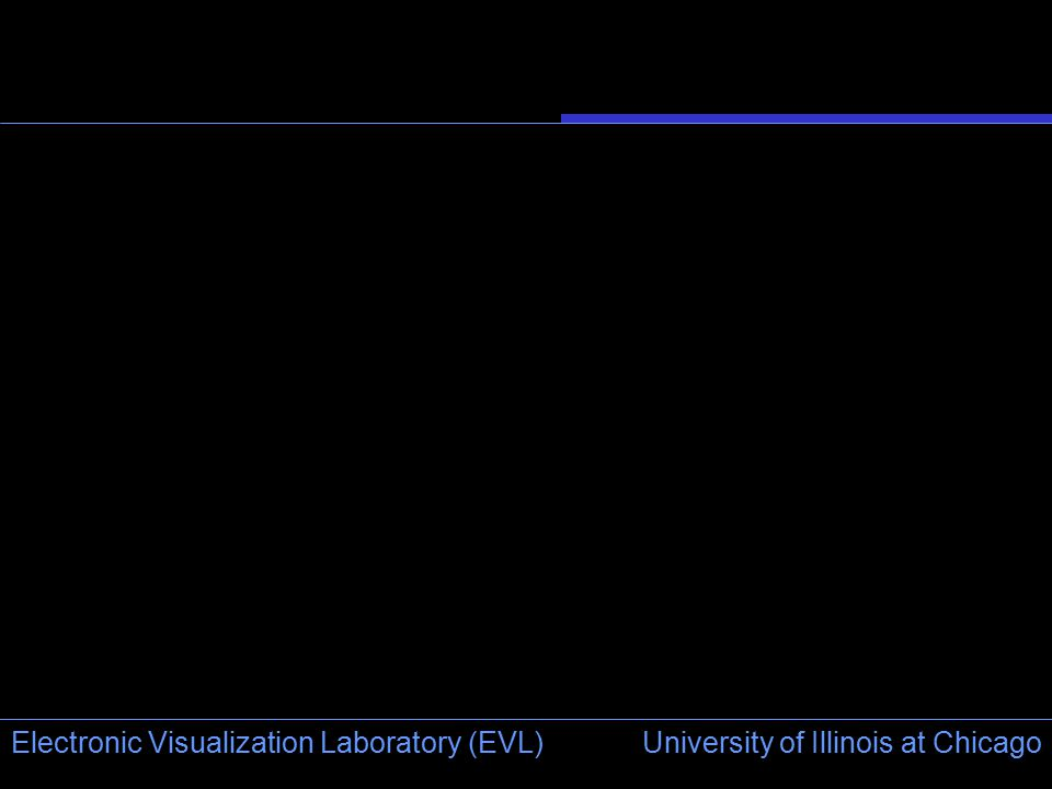 University of Illinois at Chicago Electronic Visualization Laboratory (EVL)