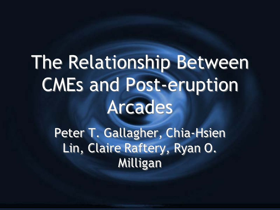 The Relationship Between CMEs and Post-eruption Arcades Peter T.