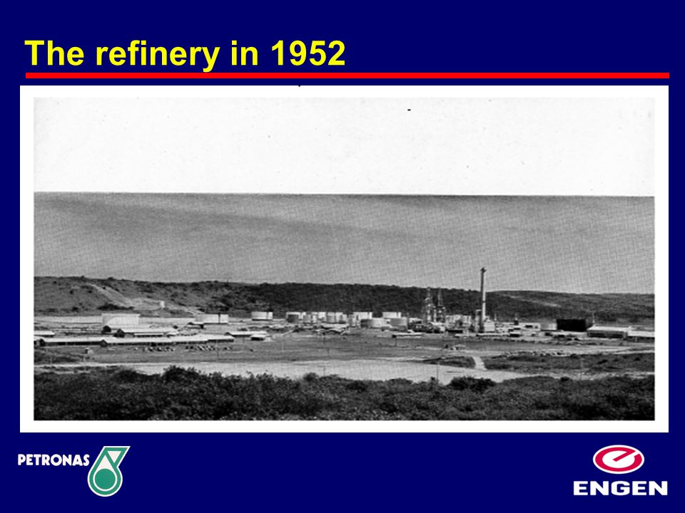 The refinery in 1952