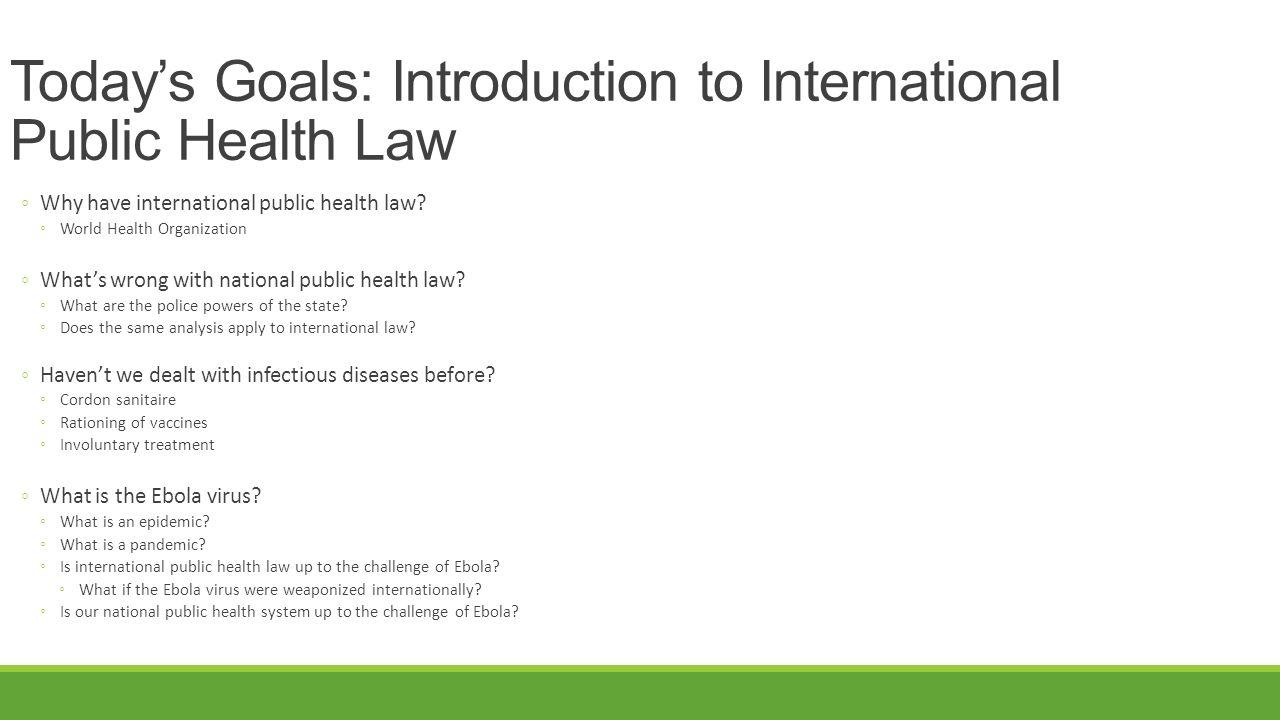 World Health Organization What are the International Health Regulations.
