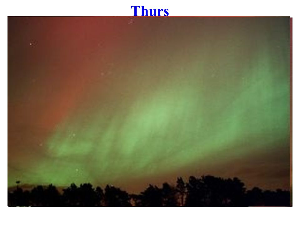 Aurora in St Andrews (Tom Robitaille) Wed