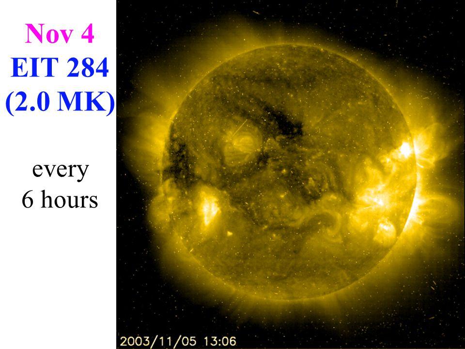 Nov 4 EIT 195 (1.6 MK) 1st 5 hours