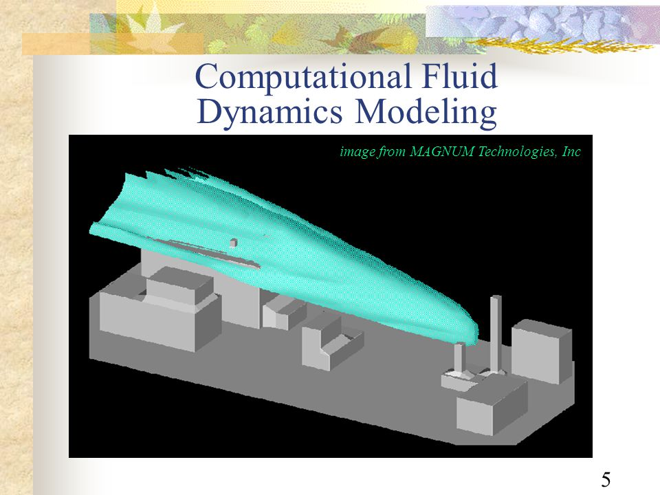 5 Computational Fluid Dynamics Modeling image from MAGNUM Technologies, Inc