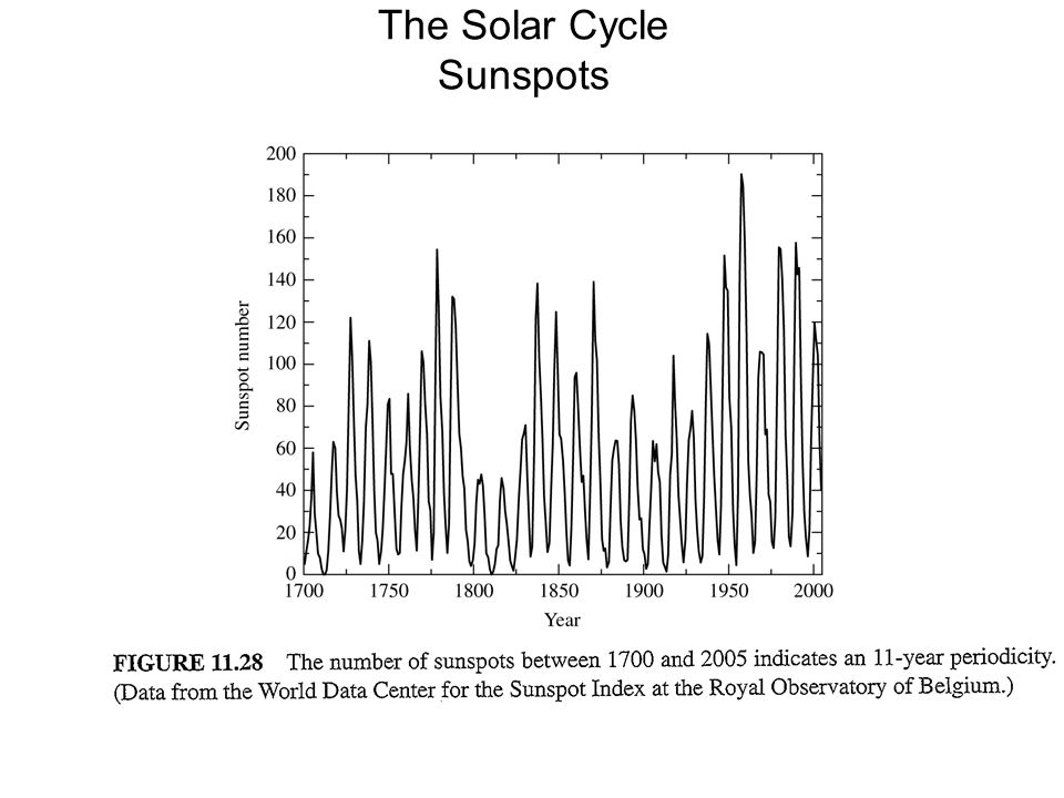 The Solar Cycle Sunspots