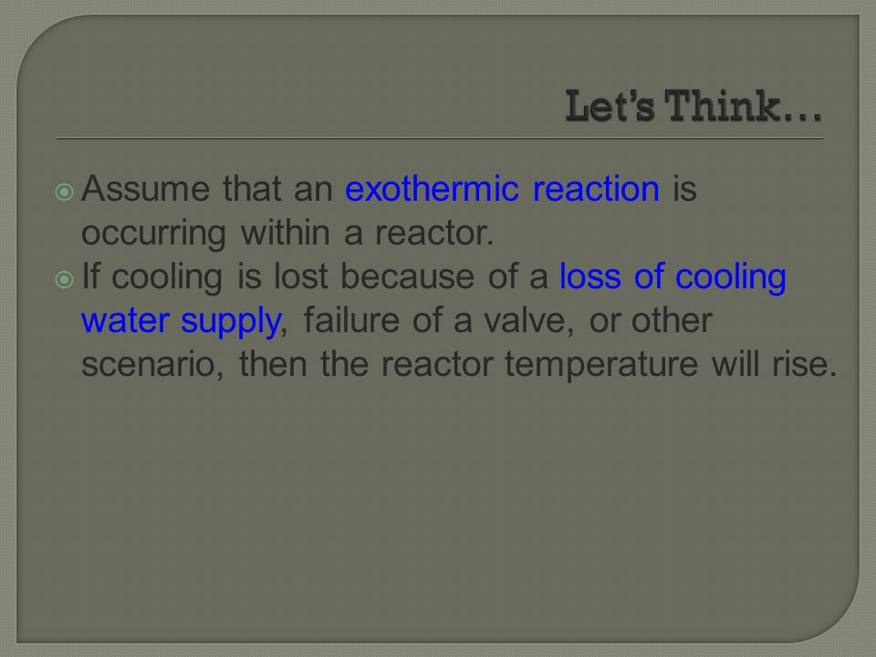  As the temperature rises, the reaction rate increases  leading to an increase in heat production.