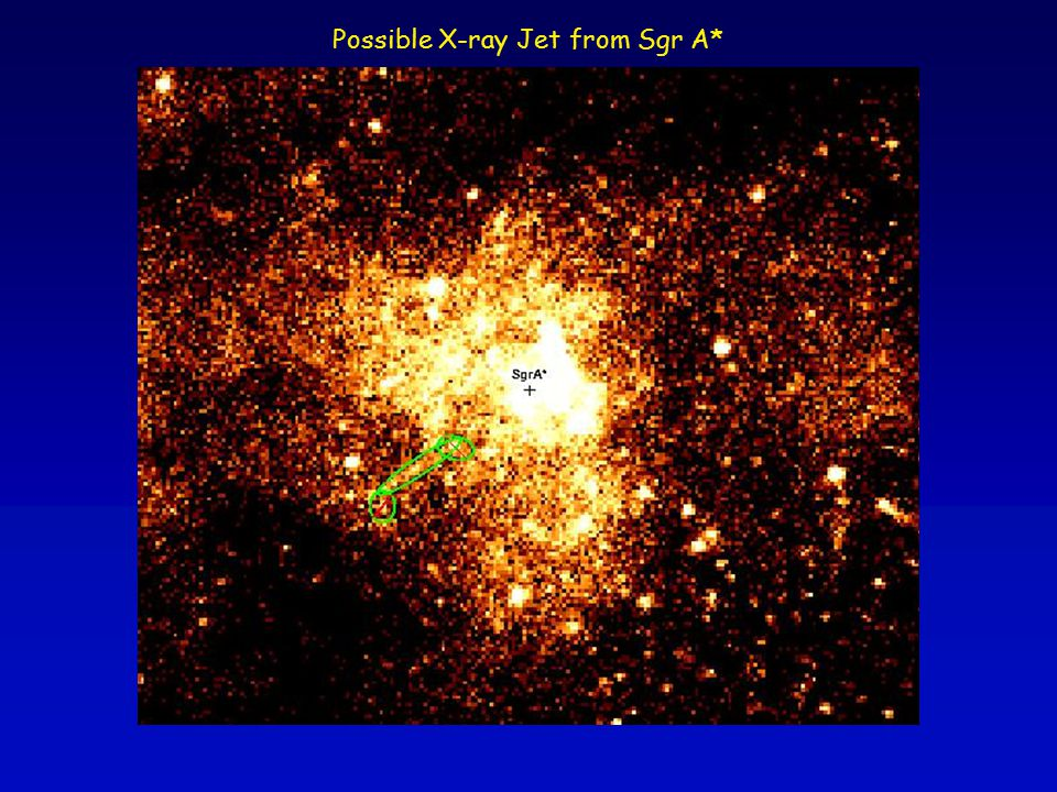 Possible X-ray Jet from Sgr A*