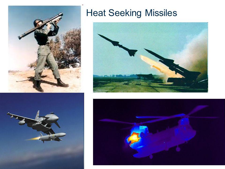 © CSIR 2010 www.csir.co.za Heat Seeking Missiles