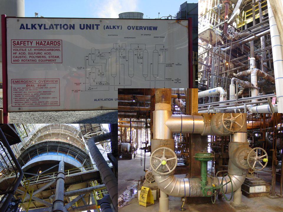 Other Refinery Units Steam Generation Wastewater Treatment Hydrogen Generation Power Generation (e.g., cogen) Air Separation Plant Loading/Unloading - Railcar, Trucks, etc.