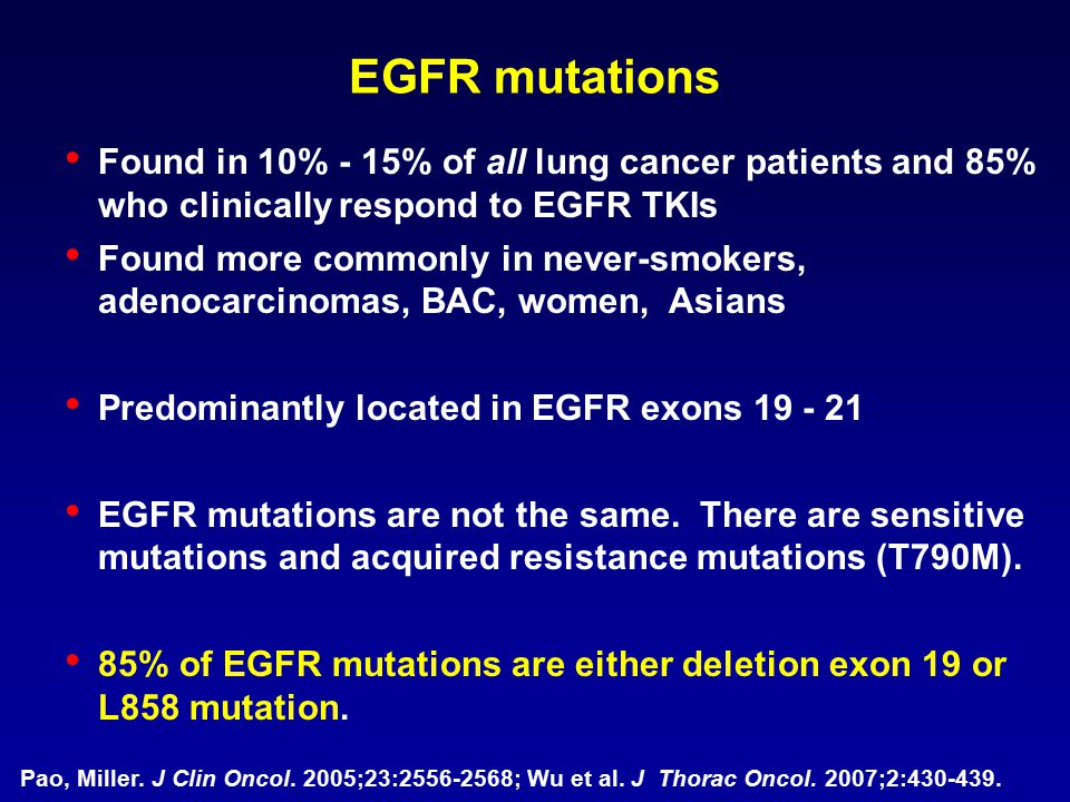 Current Options in EGFR TKI resistant patient with EGFR mutation Chemotherapy Chemotherapy + EGFR TKI combination Chemotherapy Chemotherapy with intermittent EGFR TKI EGFR TKI