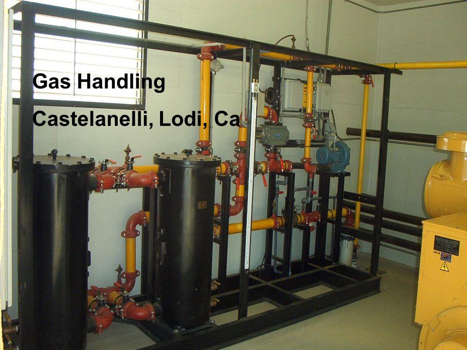 Gas Handling Castelanelli, Lodi, Ca