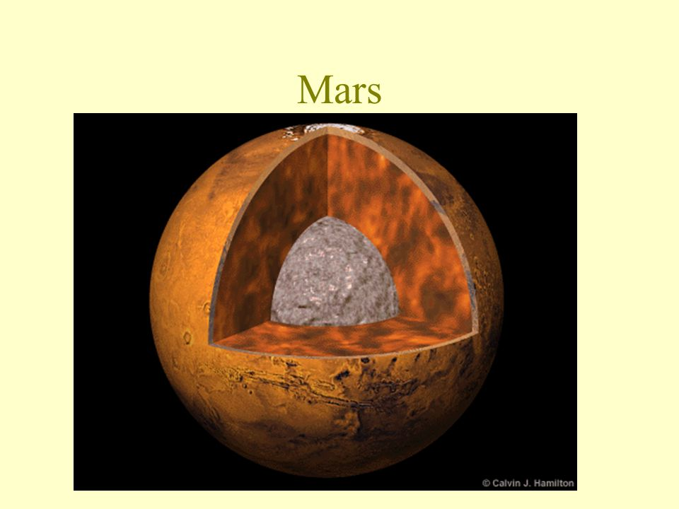 Mars Mars is the most Earthlike of all of the planets.