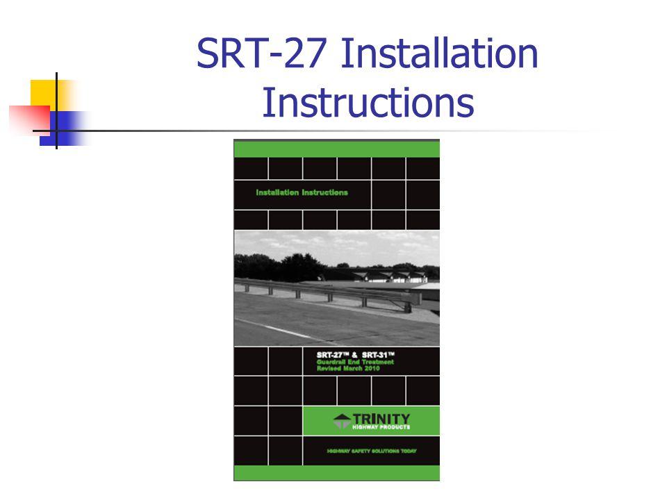 SRT-27 Slotted Rail Terminal – 27 Inch Need PHOTOS OF Crashed SRT-27