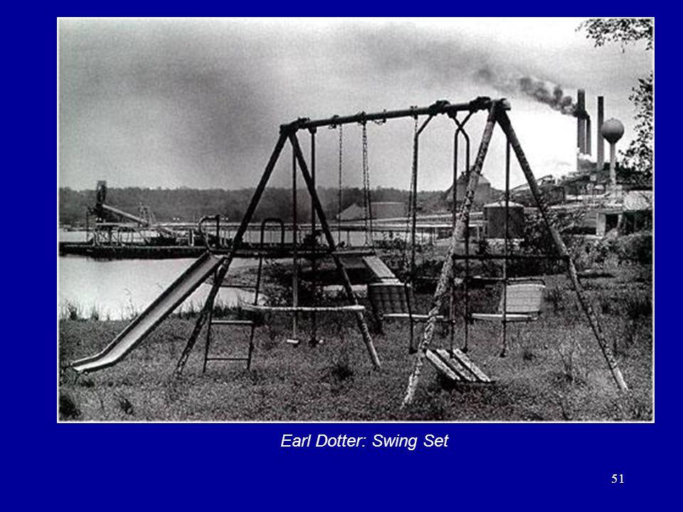 51 Earl Dotter: Swing Set