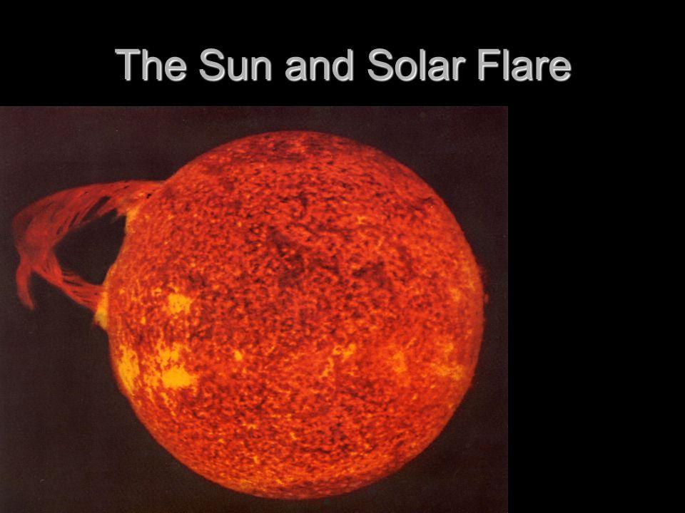 The Sun and Solar Flare
