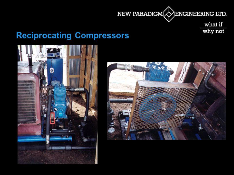 Gas Compression Options  Rotary Vane Compressors  Beam Mounted Gas Compressors  Liquid Eductors  Multi-phase Pumps  Screw Compressors  Reciprocating Compressors