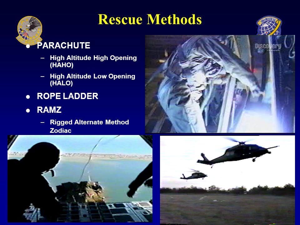 Rescue Methods GUNNER Hoist Rappel