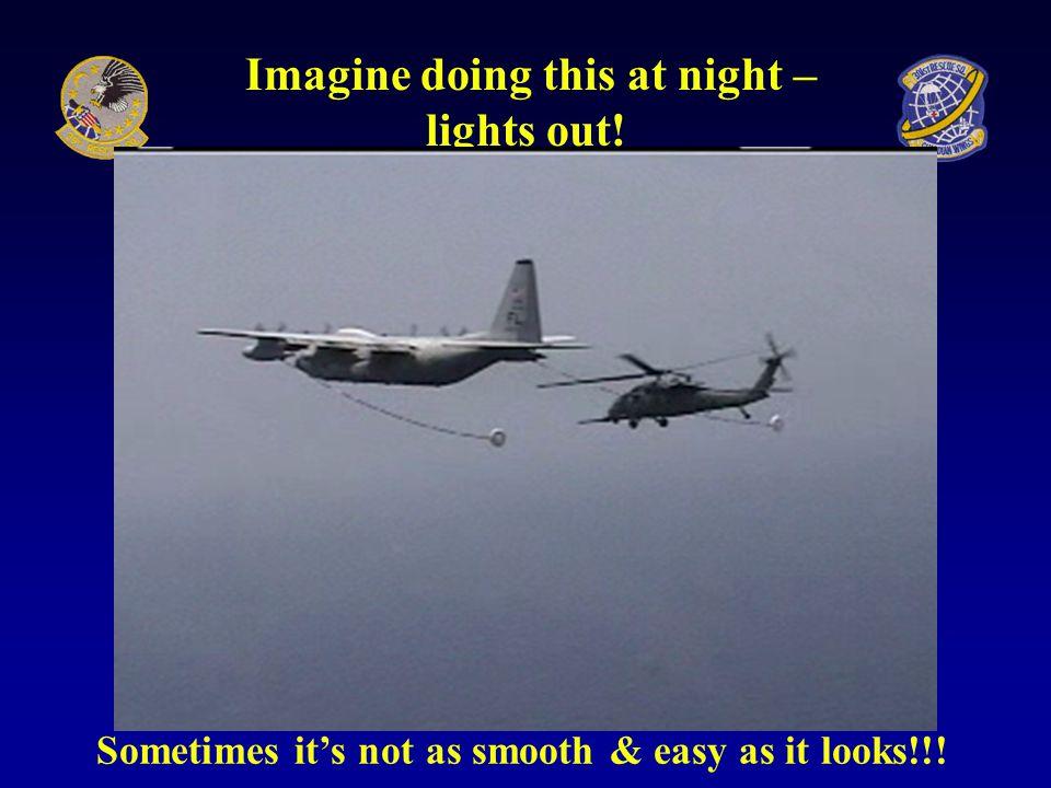 HC-130 Hercules Air Refueling