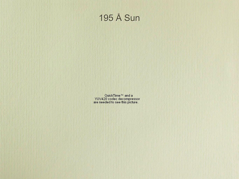 195 Å Sun