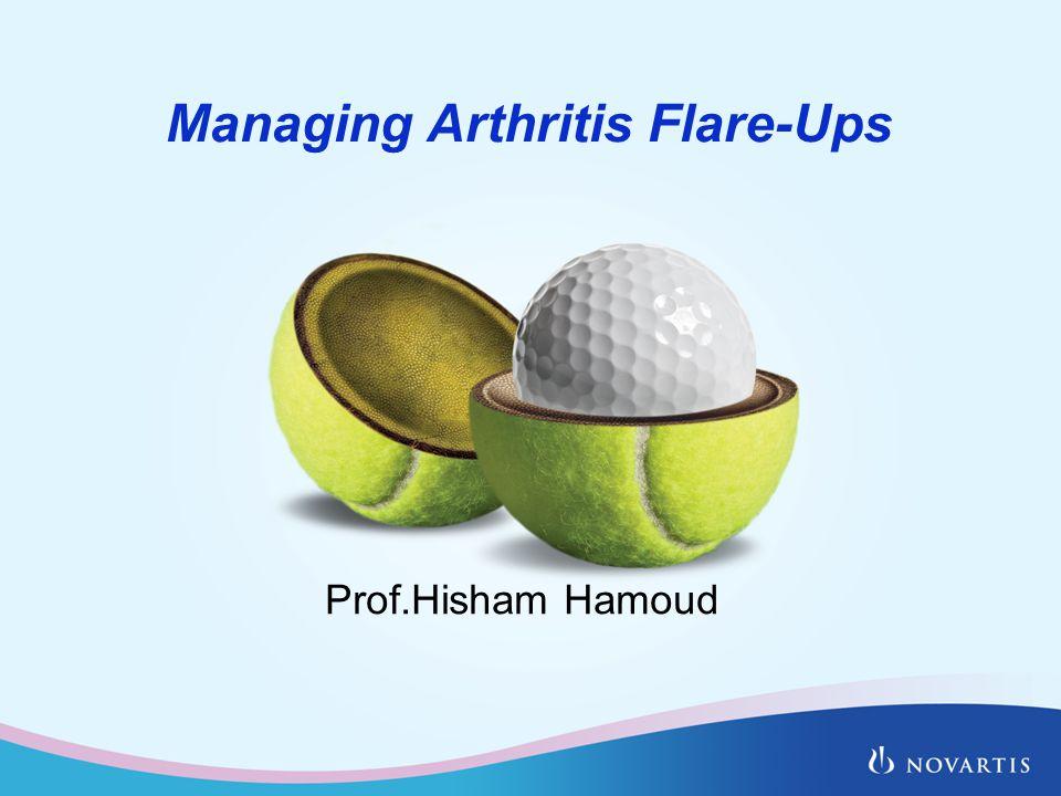 Managing Arthritis Flare-Ups Prof.Hisham Hamoud
