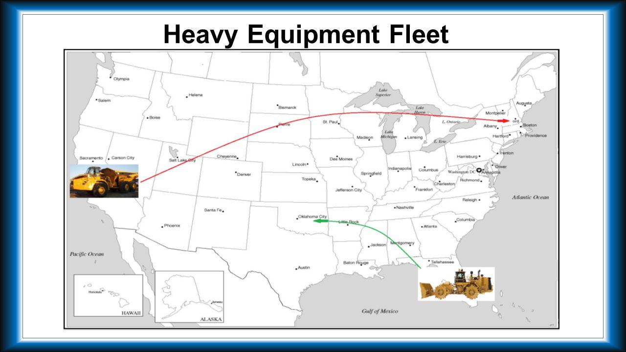 Heavy Equipment Fleet