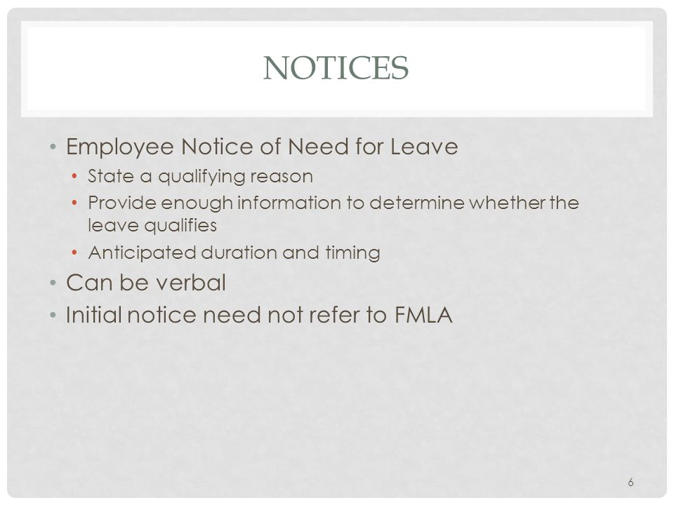 FMLA PRIVACY Employee request for FMLA time only requires A qualifying reason and An explanation of the qualifying reason Employee request for FMLA does not require Disclosure of diagnosis Description of the nature or severity of the condition Reason for hospitalization (e.g., suicide attempt).