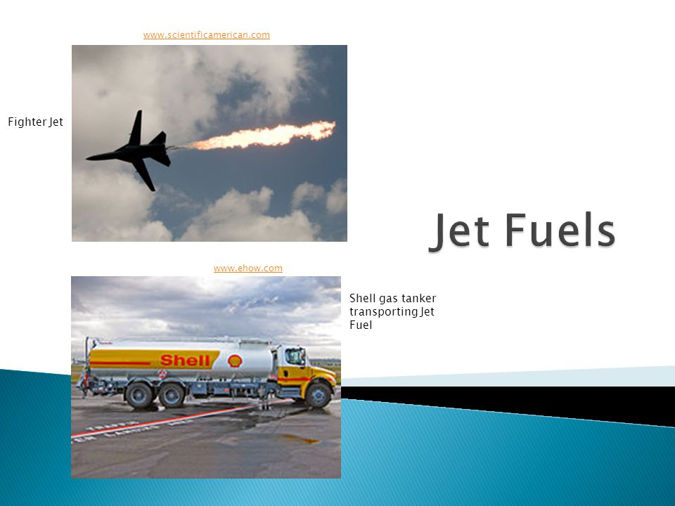 www.scientificamerican.com www.ehow.com Fighter Jet Shell gas tanker transporting Jet Fuel