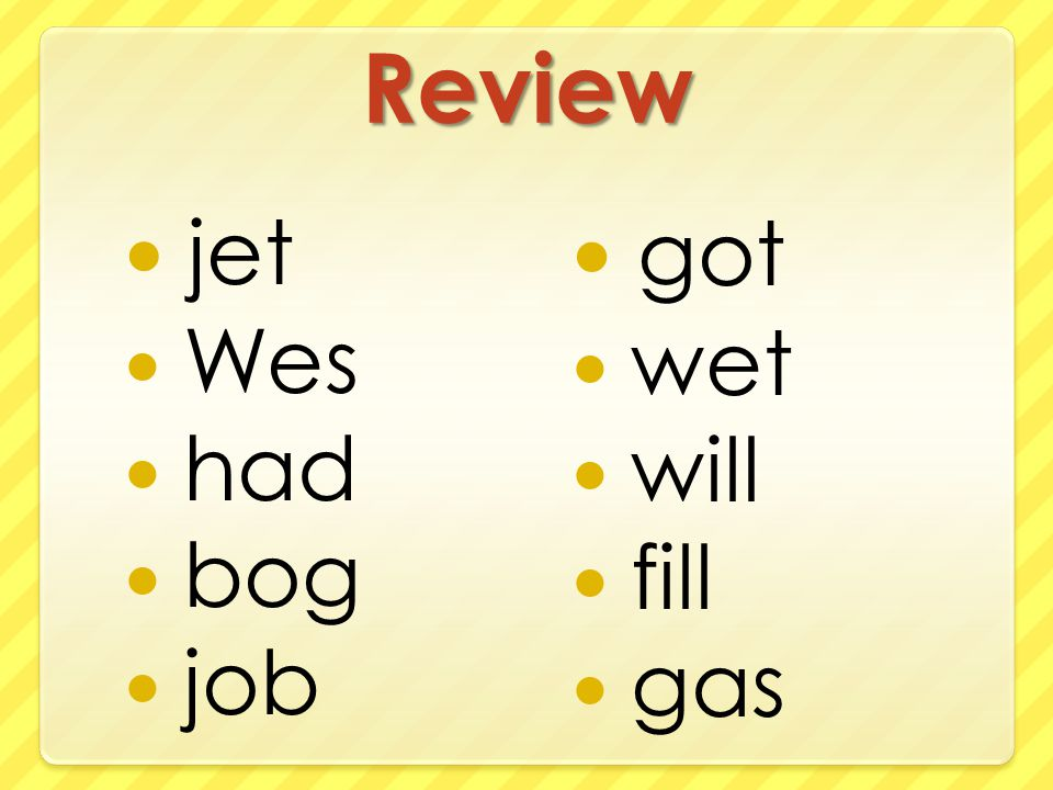Review jet Wes had bog job got wet will fill gas