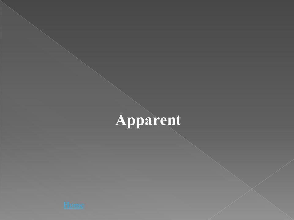 Home Apparent