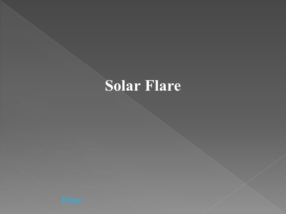Solar Flare Home