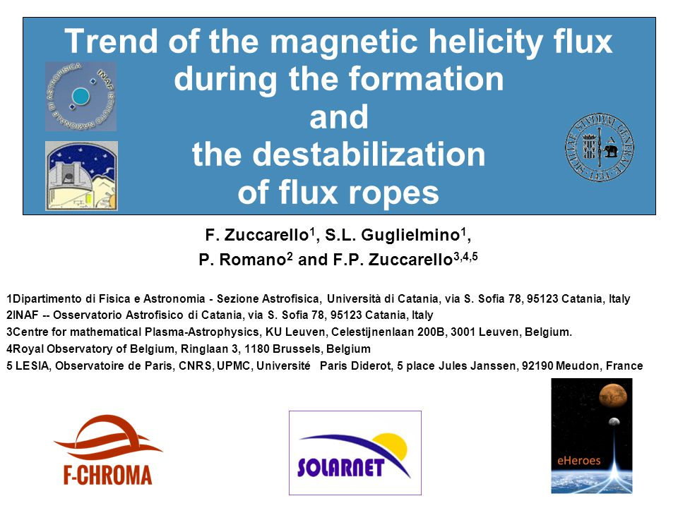 Trend of the magnetic helicity flux during the formation and the destabilization of flux ropes F.