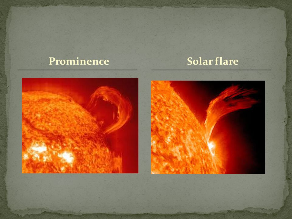 ProminenceSolar flare